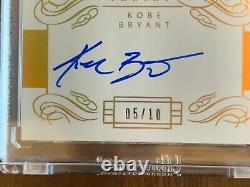 13/14 Panini Flawless Kobe Bryant Auto Gold 5/10 ON CARD AUTOGRAPH PSA BGS 10