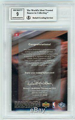 1998-99 Upper Deck MJx Michael Jordan Auto Autograph BGS 8.5 #/50 Chicago Bulls