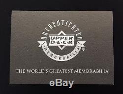 1998/99 Upper Deck Michael Jordan Game Used Worn Jersey Signed Uda Bgs 9 Auto 10