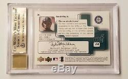 1999 SP Signature Ken Griffey Jr. Autographed Mariners All Star BGS 9.5 Auto 10