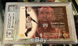 2000 UD BGS 9 Ovation Michael Jordan Piece History of Game Shoe Auto #10/23 MJ-A