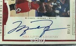 2000 Upper Deck Master Collection Michael Jordan Autograph Auto /50 BGS 9 10