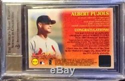 2001 Bowman Autographs Albert Pujols Auto RC BGS 9.5/10 #BA-AP STL LAA True Gem