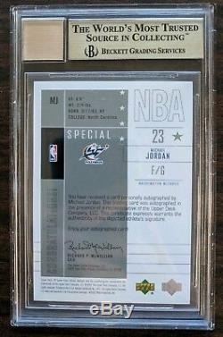 2002-03 SP Game Used MICHAEL JORDAN AUTO 23/50 Significance BGS 9.5 JERSEY # 1/1
