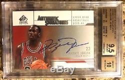 2003-04 Michael Jordan SP Authentic Signatures Auto BGS 9.5/10 10 Centering GOAT