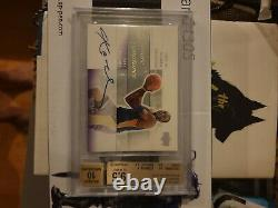 2003-04 Ultimate Collection KOBE BRYANT Ultimate Signatures Auto Bgs 9.5/10 READ