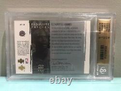 2003-04 Upper Deck Exquisite Patches Autograph Chris Bosh /100 BGS 9.5 10 Auto