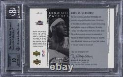 2003 Exquisite Collection LeBron James ROOKIE RC PATCH AUTO /100 BGS 8.5 RPA
