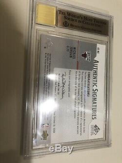 2003 Michael Jordan SP Authentic Signatures Auto AUTOGRAPH BGS 9.5/10