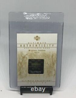 2003 Michael Jordan Ultimate Buyback Sp AllStar Die Cut BGS 9With10Auto#6/24 Pop 1