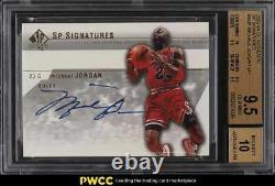 2003 SP Authentic Signatures Michael Jordan AUTO #MJA BGS 9.5 GEM MINT