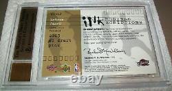 2003 SP Inkredible Inkscriptions LeBron James ROOKIE RC 21/25 Bgs 9.5 10 Auto