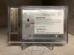 2003 SP Signature Edition Michael Jordan Authentic Autograph BGS 9.5 with 10 Auto