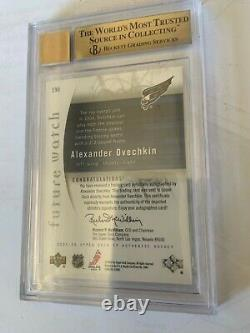 2005-06 SP Authentic Future Watch #190 Alexander Ovechkin RC AUTO /999 BGS 9.5