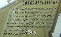 2005-06 Sidney Crosby Rookie Spx Auto Jersey Bgs 10 Pristine Real Rc Rare Pop 2