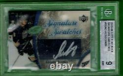 2005-06 UD SIGNATURE SWATCHES Alex Ovechkin ROOKIE ON SWATCH AUTO RC BGS 9-10