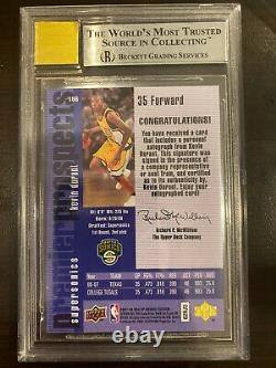 2007-08 SP Rookie Edition 1996-97 Kevin Durant Supersonic AUTO BGS 9 Mint