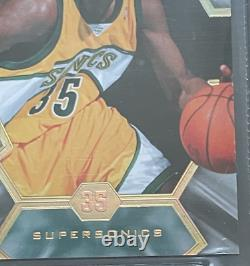 2007-08 UD SPX Super Scripts Auto Kevin Durant Rookie RC BGS 8 Graded Card