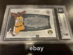 2007 Upper Deck Ultimate Collection #115 KEVIN DURANT Rookie Auto RC BGS 9 /150