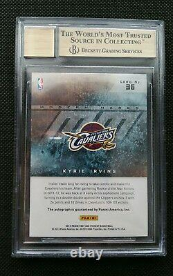 2012-13 Kyrie Irving Panini Past & Present Rookie Rc Auto Sp Insert! Bgs 9.5/10