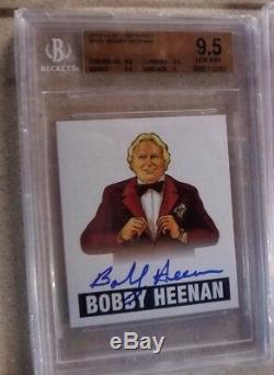 2012 Leaf Originals Wrestling Bobby Heenan BGS 10 AUTO AUTOGRAPH CARD WCW WWE