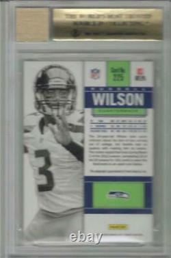2012 Russell Wilson Contenders Auto Rookie Ticket Variation RC- BGS 9.5 Gem Mint