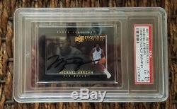 2013-14 Exquisite Michael Jordan Dimensions Autograph Auto Shadowbox Psa Unc Bgs