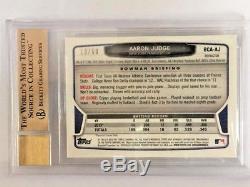 2013 Bowman Chrome Aaron Judge Gold Refractor Auto #/50 True Gem-Mint BGS 9.5/10
