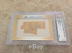2013 Leaf Executive Masterpiece Ty Cobb Cut Signed Auto BGS 1/1 One Of A Kind