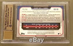 2015 Bowman Chrome Gold Refractor Cody Bellinger Auto RC BGS 9.5 Autograph