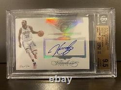 2015 FLAWLESS SUPER SIGN PLATINUM KEVIN DURANT 1 OF 1 BGS 9.5 Gem Mint / Auto 10