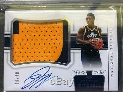 2017-18 National Treasures Donovan Mitchell RPA Rookie Auto BGS 9.5 10 HIGH SUBS