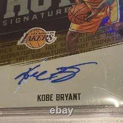 2017-18 Panini Hoops Kobe Bryant Autograph Hot Signatures Auto BGS 9 Auto 10 #47