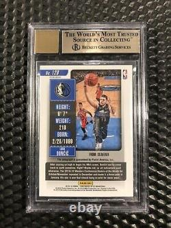 2018-19 Contenders Optic Blue Prizm #128 Luka Doncic RC Rookie AUTO /99 Bgs 9.5