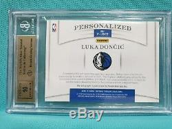 2018-19 National Treasures Luka Doncic 1/1 Rookie Auto Rc Bgs 9.5 10 Autograph J
