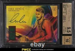 2018 Court Kings Fresh Paint Jade Luka Doncic ROOKIE RC AUTO #28 BGS 9.5 GEM