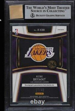 2018 Select In-Flight Signatures Kobe Bryant AUTO /49 #1 BGS 9 MINT