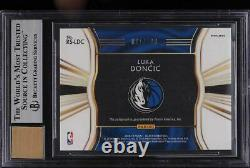 2018 Select Signatures Silver Luka Doncic ROOKIE RC AUTO /199 #30 BGS 9 MINT