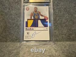 2019-20 Encased Eric Paschall Red Rookie Patch Auto 17/25 Warriors BGS 9.5 RPA