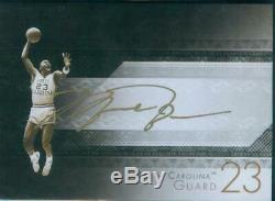 BGS 9 Michael Jordan 2013-14 UD Exquisite Game Face Booklet Auto Autograph
