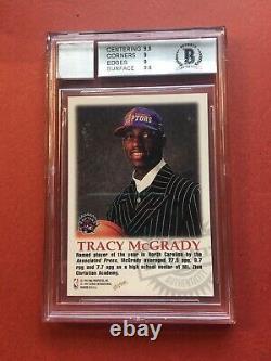 BGS 9 Tracy McGrady 1997/98 Skybox Autographics Century Marks Rookie Auto 1/100