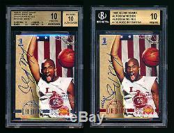 Bgs 10 Pristine Kobe Bryant 1996-97 Rookie Autograph Pop 1 Rc Auto's! Exquisite