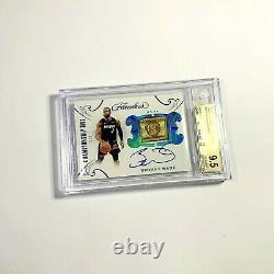 DWYANE WADE 1/2 Championship Tags Autograph 2018-19 Flawless Tag Auto BGS 9.5