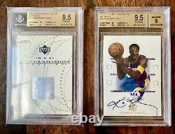 Kobe Bryant 2002-03 Ultimate Collection Autograph Auto /38 Buyback BGS 9.5