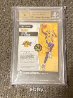 Kobe Bryant 2018-19 Opulence 24k Holo Gold Auto 9/10 BGS 9.5