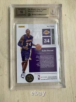 Kobe Bryant Encased On Card Auto /25 BGS 9.5