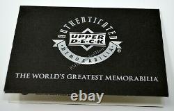 Michael Jordan 2000-01 Ud Flight School Ultimate Game Used Patch Auto Bgs 9.5/10