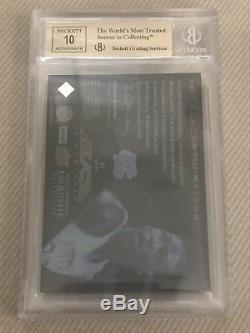 Michael Jordan 2012-13 UD Exquisite Black Auto BGS 9.5/10 #/75 Autograph