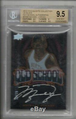Michael Jordan Auto /75 2012-13 Ud Exquisite Old School Autograph Bgs 9.5 10