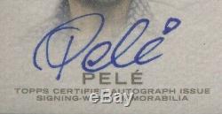 PELE 2016 Topps DYNASTY Autograph Patches /5 AUTO 10 BGS 10 Pop 1'Brasil Logo
